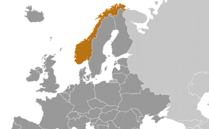 Location of Norway. Source: CIA World Factbook.