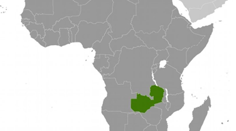 Location of Zambia. Source: CIA World Factbook.