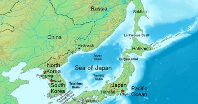 Sea of Japan. Source: Wikipedia Commons.