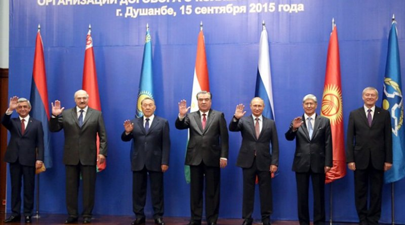 CSTO Summit, September 15, 2015.