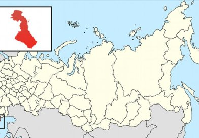 Location of Daghestan in Russia. Source: Wikipedia Commons.