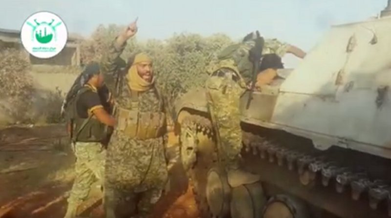 Al-Muhaysini gives his blessing to a suicide bomber in al-Fuah