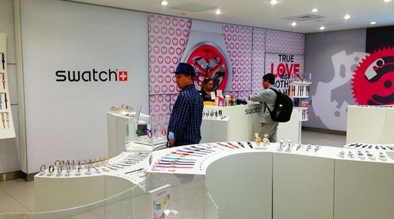 A Swatch store. Photo by WestportWiki, Wikipedia Commons.