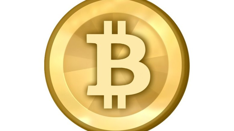 Bitcoin logo. Source: Wikipedia Commons.