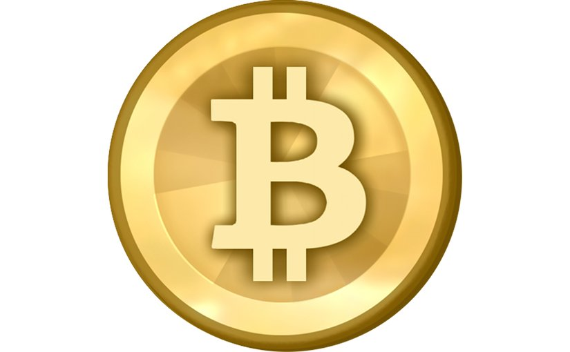 Bitcoin logo. Source: Wikipedia Commons.