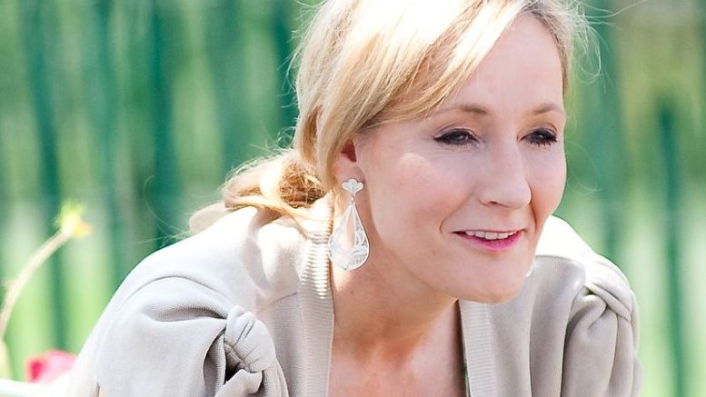 J.K. Rowling. Photo by Daniel Ogren, Wikipedia Commons.