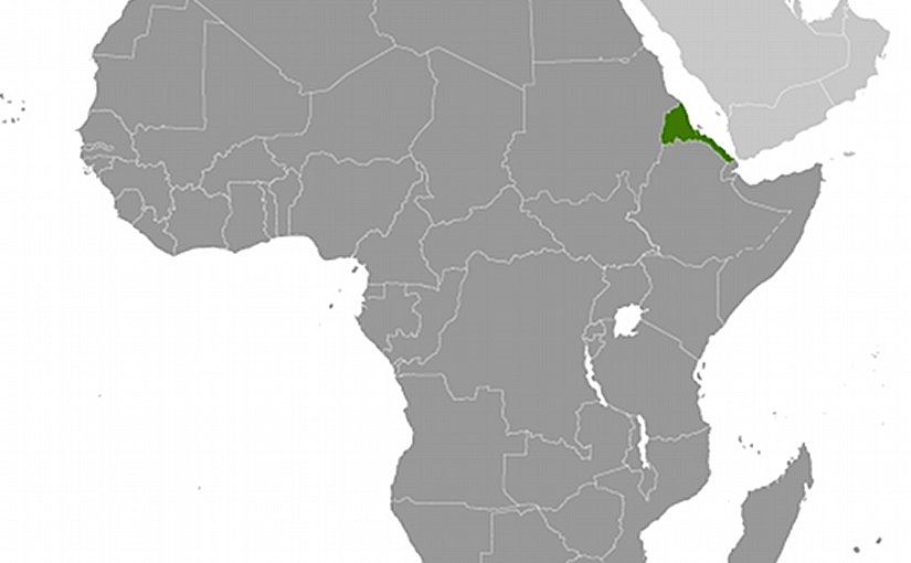 Location of Eritrea. Source: CIA World Factbook.
