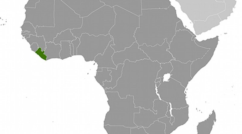 Location of Liberia. Source: CIA World Factbook.