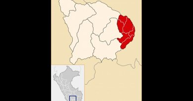 Location of Cotabambas Province in Peru, the hotbed of protests. Source: Wikipedia Commons.