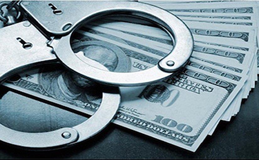money handcuff
