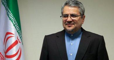 Iran's Gholamali Khoshroo.