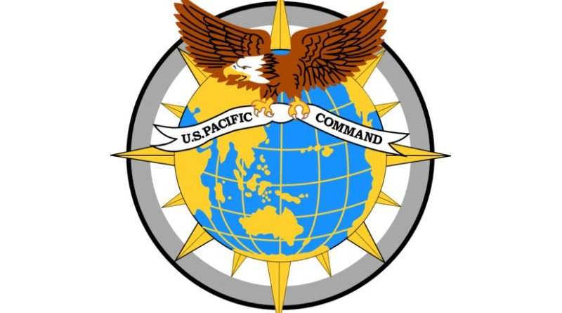 The official seal of the United States Pacific Command (PACOM).