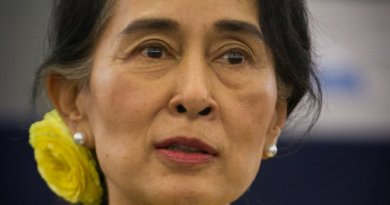 Burma's Aung San Suu Kyi. Photo by Claude TRUONG-NGOC, Wikipedia Commons.
