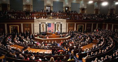 President Barack Obama speaks to a joint session of Congress. Photo by Lawrence Jackson, White House. Wikipedia Commons.
