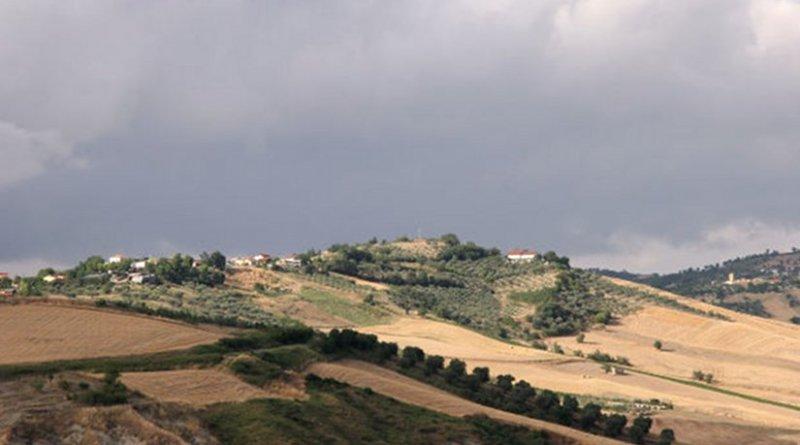 Italian countryside.
