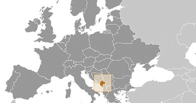 Location of Montenegro. Source: CIA World Factbook.