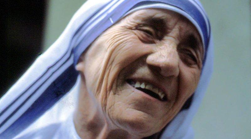 Mother Teresa. Photo by Manfredo Ferrari, Wikipedia Commons.