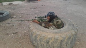 Abdelhamid Abaaoud in a photo posted on Twitter