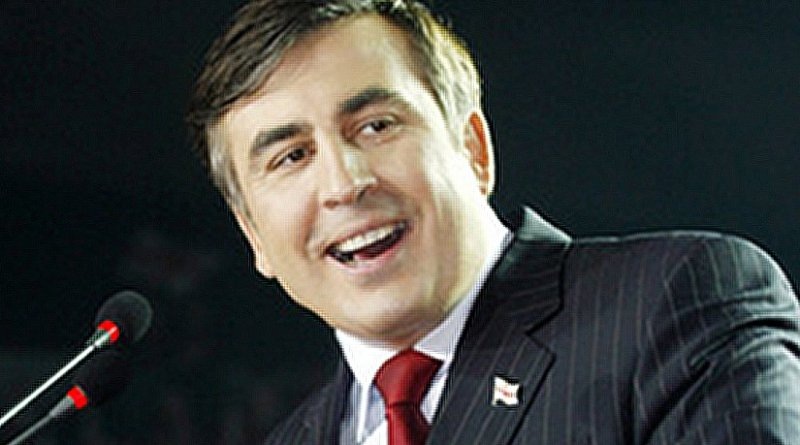 Mikheil Saakashvili. Photo by James Fimley, Wikipedia Commons.