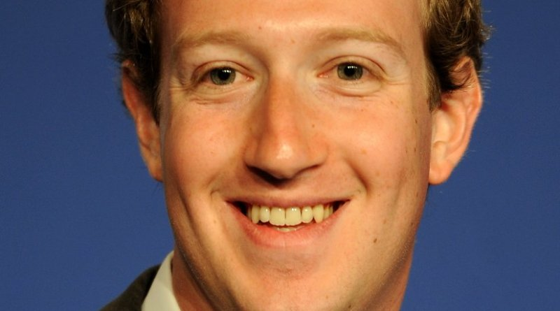 Mark Zuckerberg, Founder & CEO of Facebook. Photo by Guillaume Paumier, Wikipedia Commons.