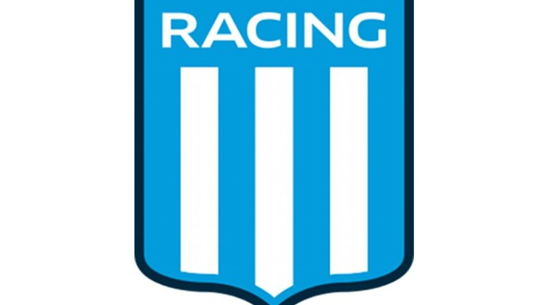 Logo of Argentina's Racing Club de Avellaneda.