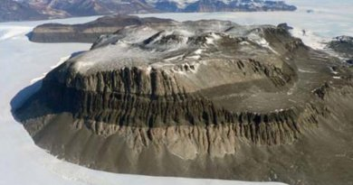 Antarctica's Friis Hills in the central Dry Valleys of the eastern portion of the continent contains ancient lake deposits indicating that the area has remained frozen for 14 to 17.5 million years. Credit University of Pennsylvania
