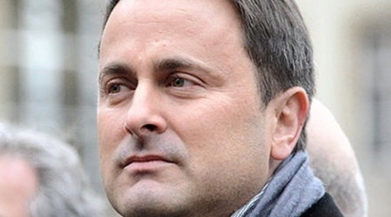 Luxembourg Prime Minister Xavier Bettel. Photo by Jwh, Wikipedia Commons.