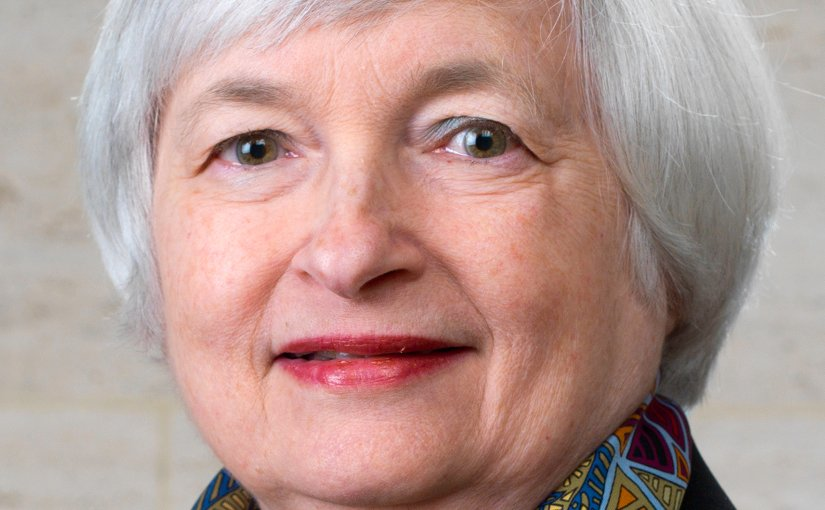 Official portrait of Federal Reserve Chairman Janet Yellen