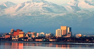 Anchorage, Alaska. Photo by Frank K, Wikipedia Commons.