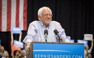 Bernie Sanders. Photo by Nick Solari, Wikipedia Commons.