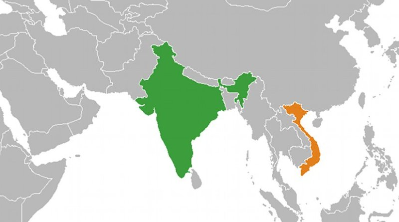 Locations of India and Vietnam. Source: Wikipedia Commons.