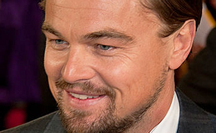 Leonardo DiCaprio. Photo by Christopher William Adach, Wikipedia Commons.