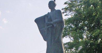 Statue of Iustus Takayama Ukon. Photo by デジタルカメラ, Wikipedia Commons.