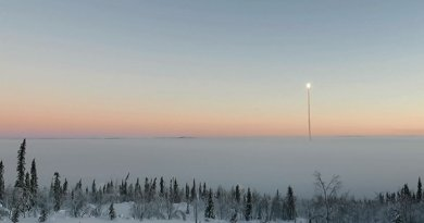 Projects KALEXUS and FOKUS successfully carried out on board the sounding rocket TEXUS-53 in microgravity. © DLR