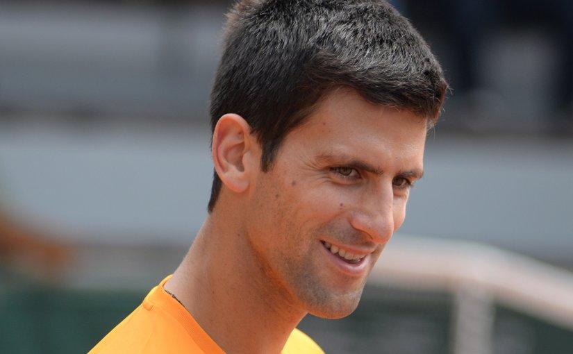 Novak Djokovic. Photo by Tatiana, Wikipedia Commons.