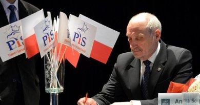 Poland's Antoni Macierewicz. Photo Wikipedia Commons.