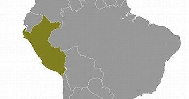 Location of Peru. Source: CIA World Factbook.