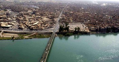 Mosul, Iraq. U.S. Army photo by Sgt. Michael Bracken, Wikipedia Commons.