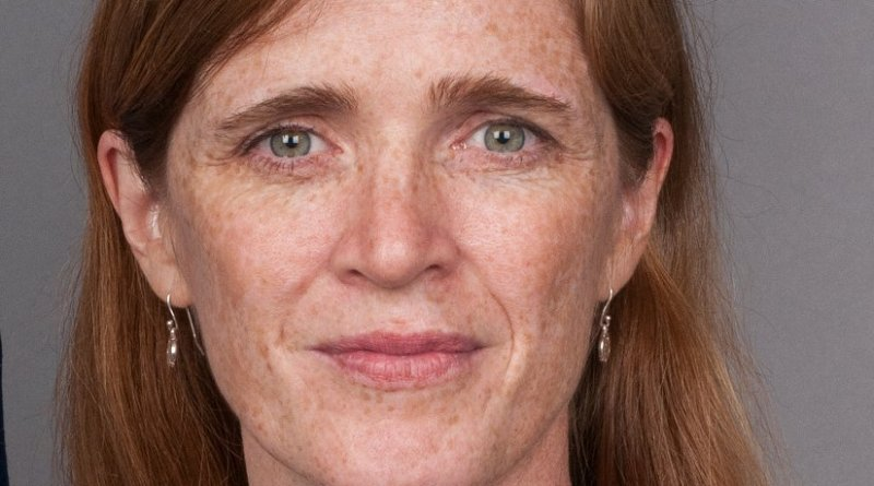Samantha Power. Photo Credit: United States State Department, Wikipedia Commons