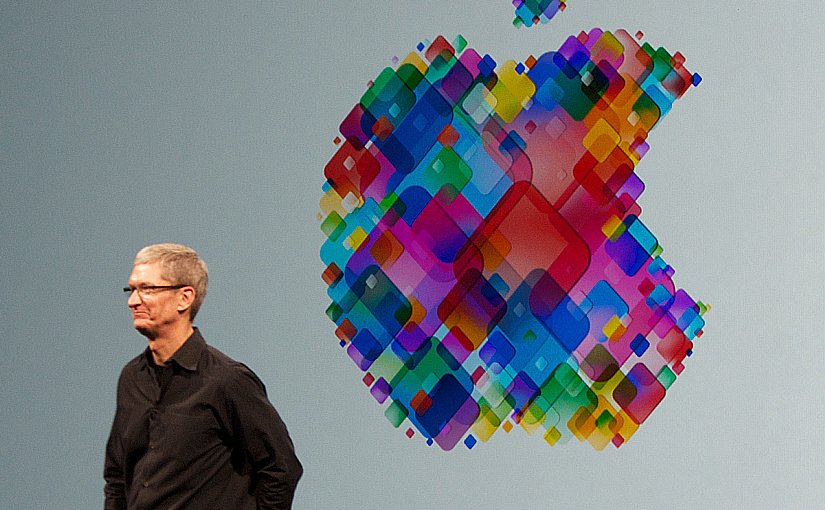 Apple's Tim Cook. Photo by Mike Deerkoski, Wikipedia Commons.