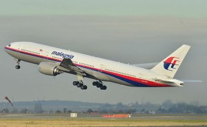 Malaysia's MH370 in 2011 photo by Laurent ERRERA, Wikipedia Commons.