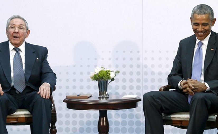 Cuba's President Raul Castro and US President Barack Obama. Photo Credit: NOTICIASMVS.