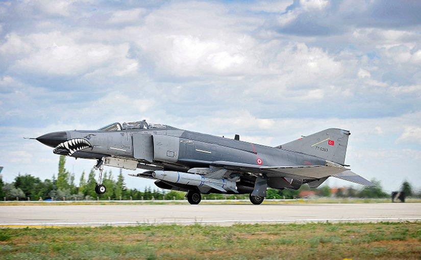 Turkey Air Force F-4E 2020 Terminator at the 3rd Air Force Base in Konya. Photo: SAC Helen Farrer RAF Mobile News Team/MOD, Wikipedia Commons.