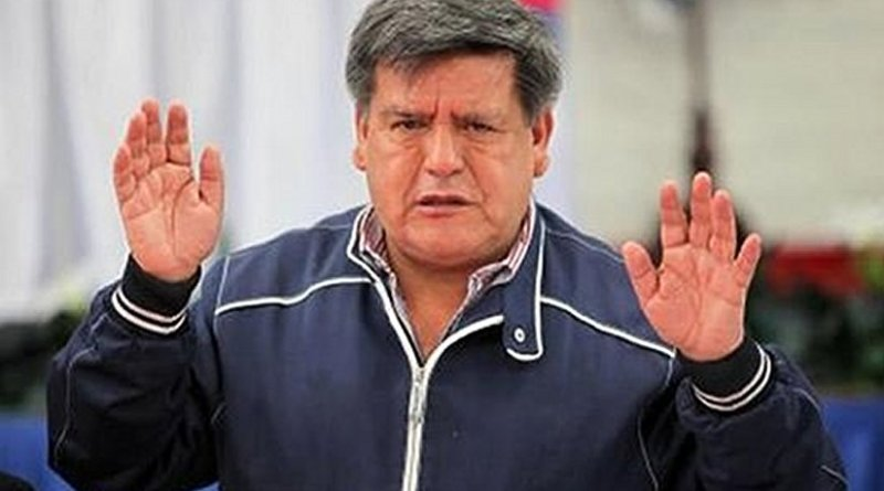 Peru's Cesar Acuna in 2015. Source: Wikimedia.