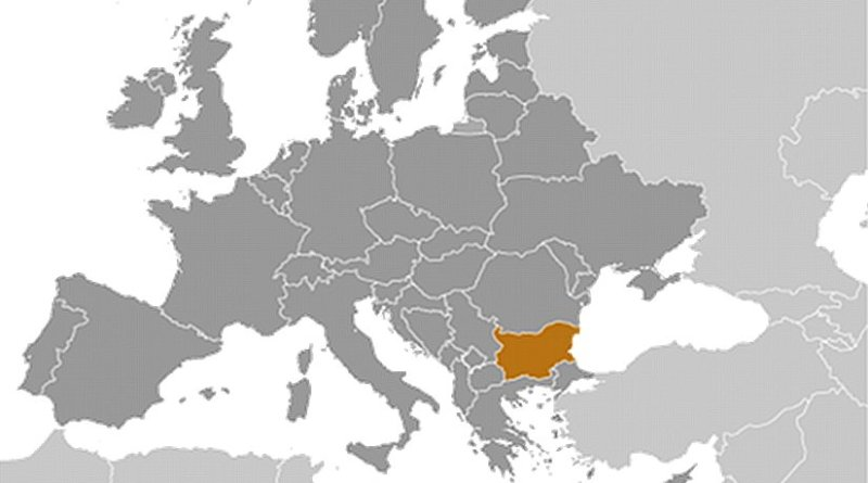 Location of Bulgaria. Source: CIA World Factbook.