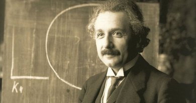 Albert Einstein. Photo by F Schmutzer, Wikipedia Commons.