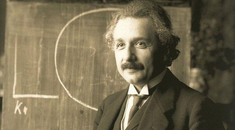 Albert Einstein. Photo by F Schmutzer, Wikipedia Commons.