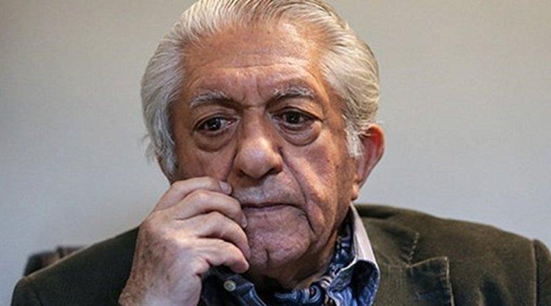 Iranian actor Ezatollah Entezami