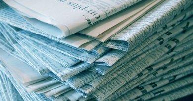 newspaper media newsnewspaper media news