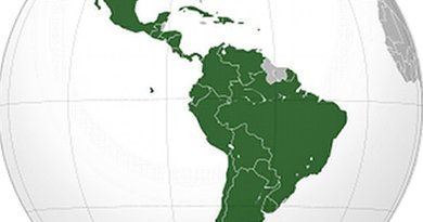 Latin America. Source: Wikipedia Commons.
